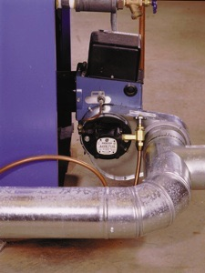 Heating Appliance Combustion Air Supply